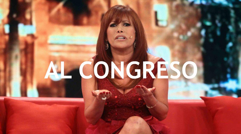 Magaly Medina al congreso
