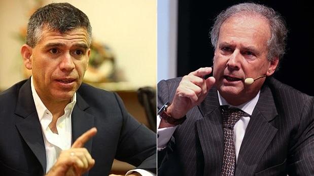 Julio Guzman y Alfredo Barnechea