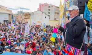 Pedro Pablo Kuczynski reinicia campaña el domingo, celebrando el día del trabajo