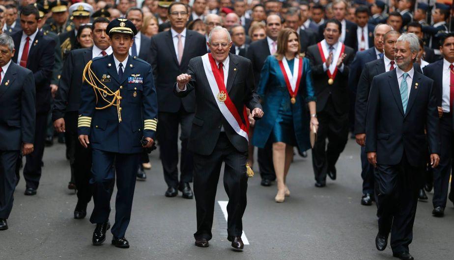 presidente PPK baile