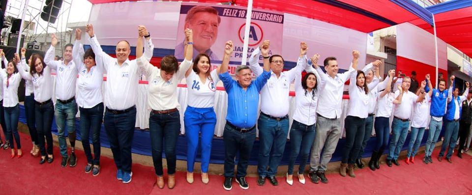 Candidatos de Alianza para el Progreso