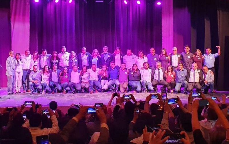 Candidatos del Partido Morado se retiran
